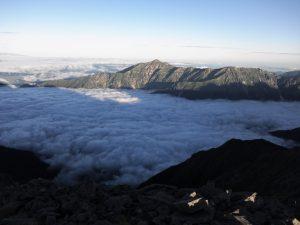 笠ヶ岳 雲海